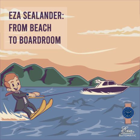 Eza Sealander Cartoon